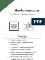 Diagnóstico das artropatias
