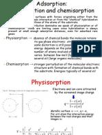 Adsorption at Surfaces