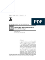 Zeolites and Zeolite Like Material in Industrial Catalysis