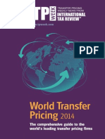 World Transfer Pricing 2014
