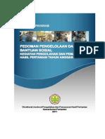 Pedoman Bantuan Sosial Ditjen PPHP Tahun 2012