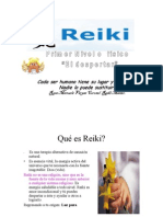 Reiki Primer Nivel Fisico (El tar