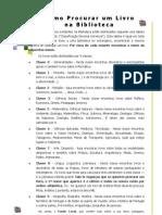 CDU Como Procurar Um Livro Na BE