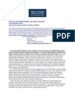 Vaccines and Global Health_The Week in Review_21 Dec 2013