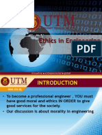 Ethics in Engineering Profession