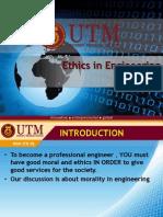 Ethics in Engineering Profession