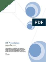 ict presentation aqsa