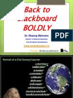 Back to Blackboard Boldly