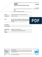 UNI 10840 Locali Scolastici Criteri Illuminazione Artificiale e Naturale