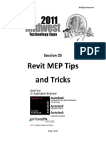 Revit MEP Tips&Tricks
