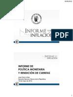 Presentación - Inflación marzo 2012