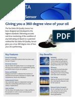 Tan Delta Oil Quality Sensor