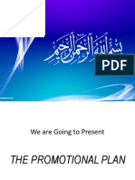 Promotional Plan (Strategic Marketing )