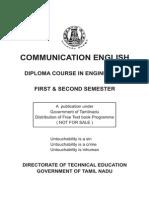 Communication English-Sem 1& 2