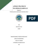 Laporan 1 (Perintah-perintah command pada terminal linux debian )