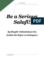 SalafiManhaj Serious