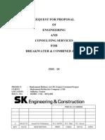 1) RFP for Breakwater & Jetty