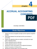 C4 Accrual Accounting Concept