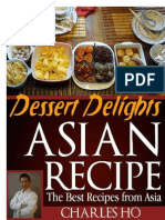 Asian Recipes - Dessert Delights (With I - Ho, Charles