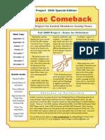 Anahuac Comeback September 2009 Newsletter