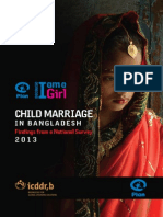 BGD Nat Survey Child Marriage Final IO Eng Sept 13