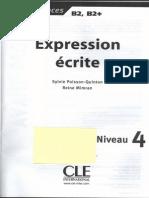 Sylvie Poisson-Quinton Reine Mimran - Expression Ecrite Niveau 4 2008
