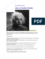 How to Become a Creative Genius