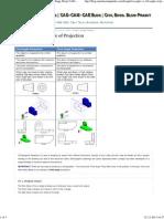 1st Angle vs 3rd Angle of Projection _ Mechanical Engg. Blog _ CAD-CAM-CAE Blog _ Civil Engg. Blog-Pramit Kumar Senapati