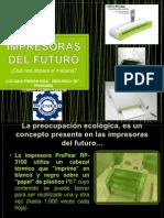 Impresoras Del Futuro