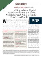 Jospt 2010.PDF 40 (6) 361-368. Case Report Radial Nerve