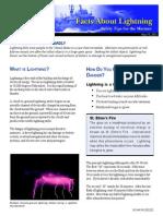 Lightning Facts Sheet