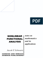 Nonlinear Functional Analysis - J. T. Schwartz - 1969