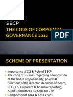 CG & Role of SECP Securities and Exchange Commission of Pakistan