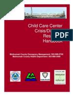 Crisis Disaster Center Handbook Mc Final 10-19-10