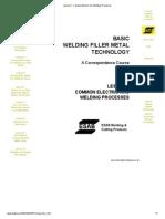 Welding Processes Complete