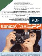 Konica_c35_efp Manual de Folosire