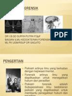 PSIKIATRI FORENSIK