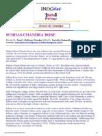 Indolink Kidz-korner - Story of Subhas Chandra Bose