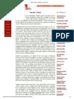 Manas_ History and Politics, Sardar Patel