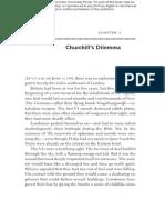 Churchill's Dilemma