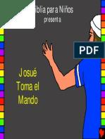 Josué toma el mando, historia 13