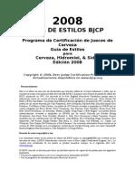 BJCP Guia de Estilos