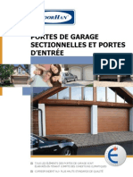 Portes de Garage Sectionnelles DoorHan