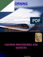 Casting Procedures & Defects Pallavi
