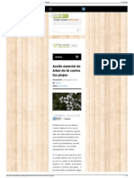 Aceite esencial de árbol de té contra los piojos - Blog Farm