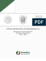 Plan Municipal de Desarrollo 2013-2016