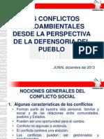 Conflictos Junin 2013