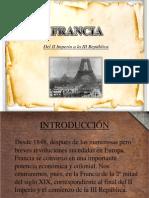 Francia II Imperio y III Rep