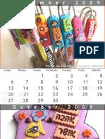 IrisMishly calendar  2009-2010