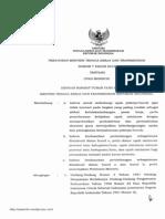 Peraturan Menteri Tenaga Kerja Dan Transmigrasi